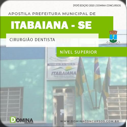 Apostila Concurso Pref Itabaiana SE 2020 Cirurgião Dentista