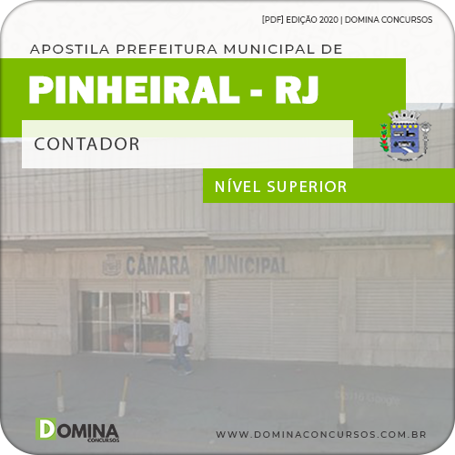 Apostila Concurso Câmara Pinheiral 2020 Contador