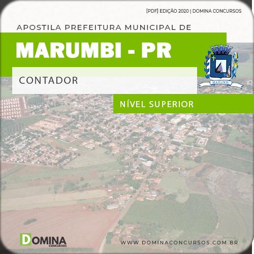 Apostila Concurso Prefeitura Morumbi PR 2020 Contador