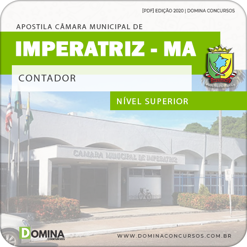 Apostila Concurso Câmara Imperatriz MA 2020 Contador