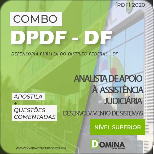 Apostila Concurso DPDF 2020 Desenvolvimento de Sistemas