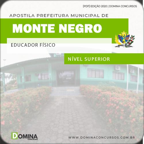 Apostila Concurso Monte Negro RO 2020 Educador Físico