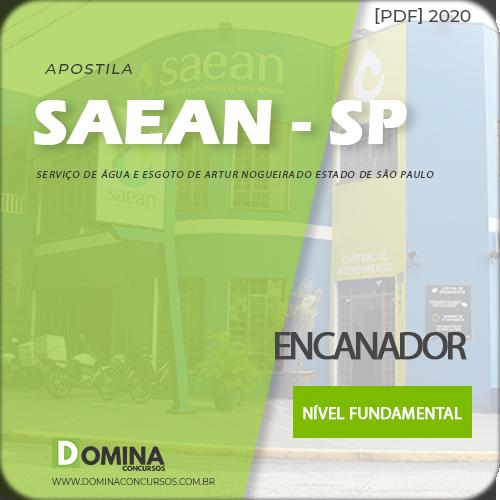 Apostila Concurso SAEAN Artur Nogueira SP 2020 Encanador