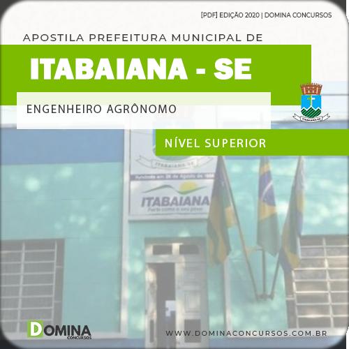 Apostila Concurso Pref Itabaiana SE 2020 Engenheiro Agrônomo