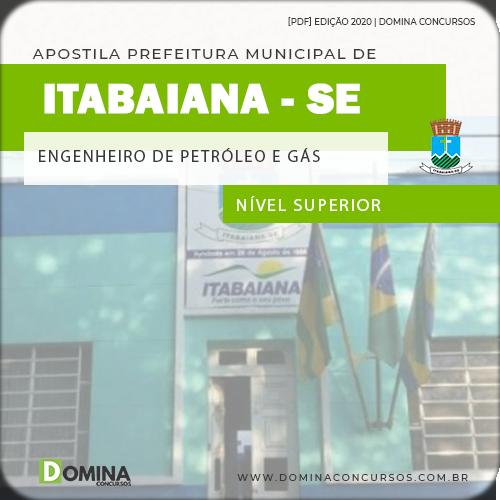 Apostila Pref Itabaiana SE 2020 Engenheiro Petróleo e Gás