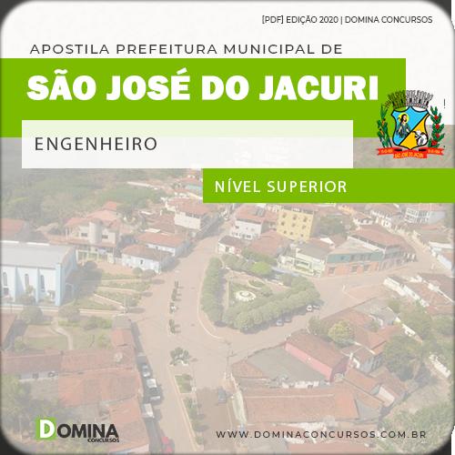Apostila Concurso Pref São José Jacuri MG 2020 Engenheiro