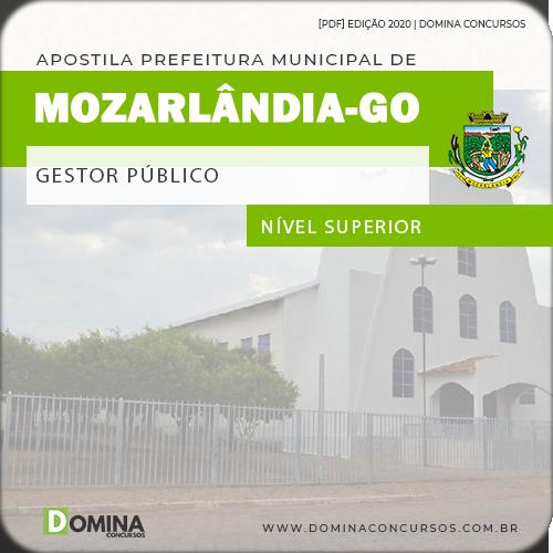 Apostila Concurso Pref Mozarlândia GO 2020 Gestor Público