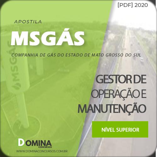 Apostila Concurso MSGáS 2020 Gestor Operação Manutenção