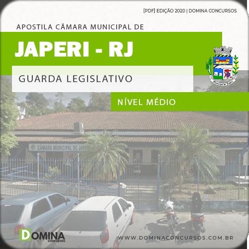 Apostila Concurso Câmara Japeri RJ 2020 Guarda Legislativo