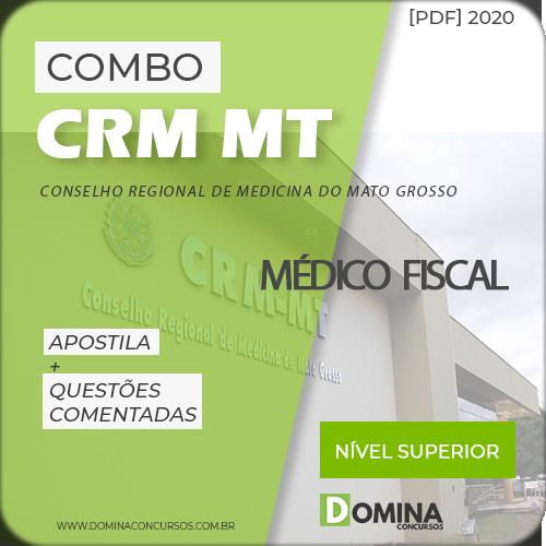 Apostila Concurso CRM MT 2020 Médico Fiscal IDIB