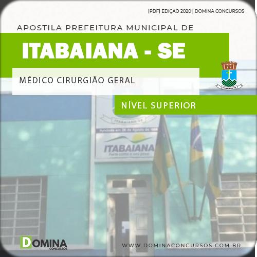 Apostila Concurso Pref Itabaiana SE 2020 Médico Cirurgião Geral