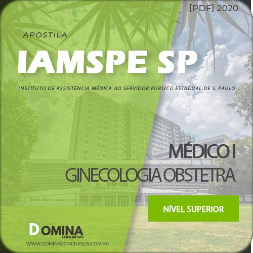 Apostila IAMSPE SP 2020 Médico I Ginecologia Obstetra