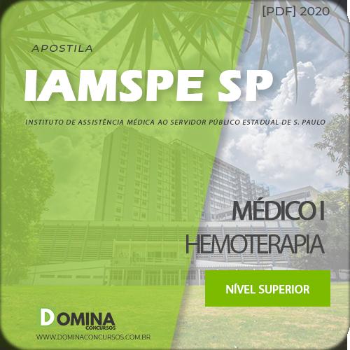Apostila Concurso IAMSPE SP 2020 Médico I Hemoterapia