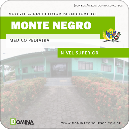 Apostila Monte Negro RO 2020 Médico Pediatra