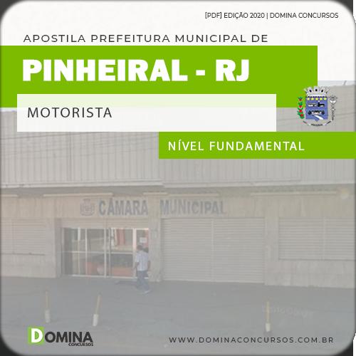 Apostila Concurso Câmara Pinheiral 2020 Motorista
