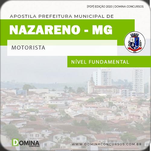 Apostila Concurso Pref Nazareno MG 2020 Motorista