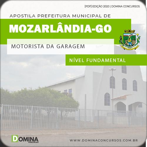 Apostila Pref Mozarlândia GO 2020 Motorista Garagem