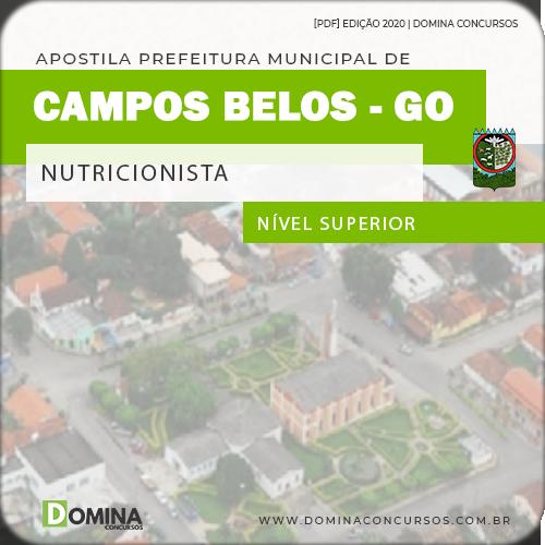 Apostila Concurso Pref Carlinda MT 2020 Nutricionista
