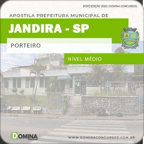 Apostila Concurso Prefeitura Jandira SP 2020 Porteiro