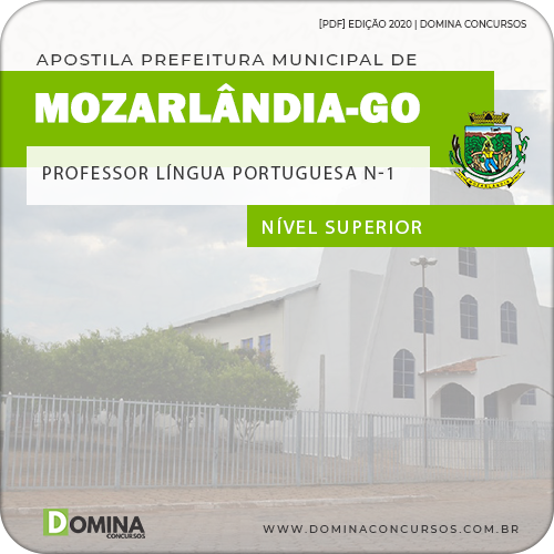 Apostila Pref Mozarlândia GO 2020 Prof Língua Portuguesa N 1