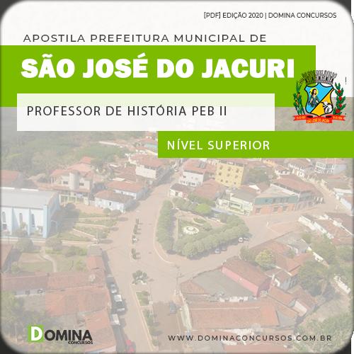 Apostila Pref São José Jacuri MG 2020 Prof História PEB II