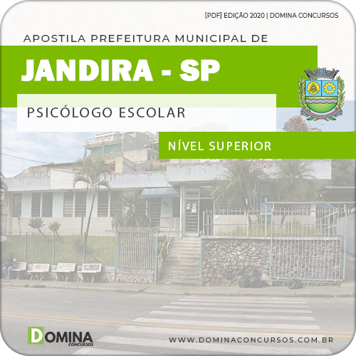 Apostila Concurso Pref Jandira SP 2020 Psicólogo Escolar