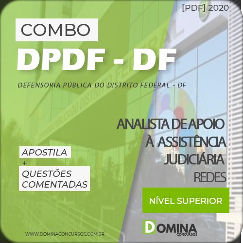 Capa Concurso DPDF 2020 Analista Informática Redes