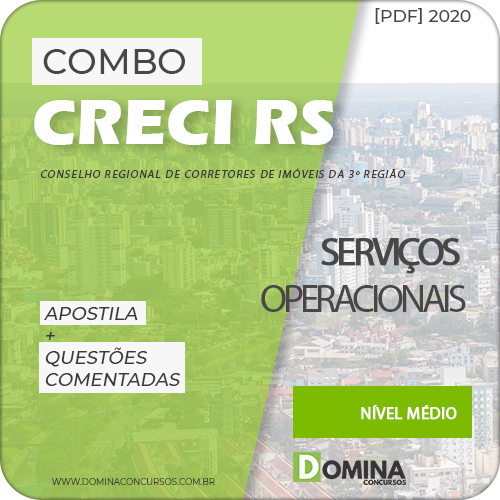 Apostila Concurso CRECI RS 2020 Serviços Operacionais
