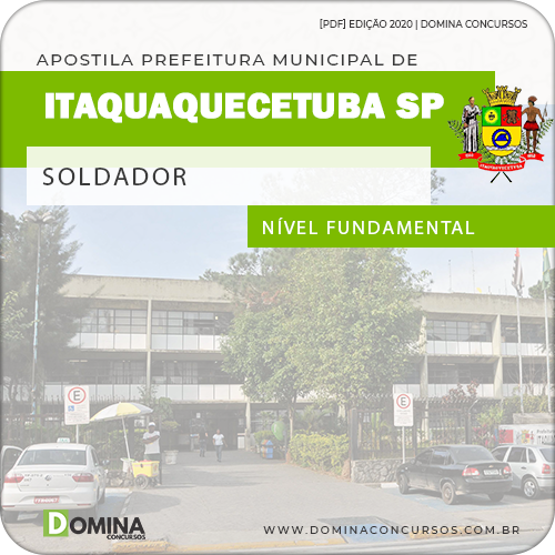 Apostila Concurso Pref Itaquaquecetuba SP 2020 Soldador