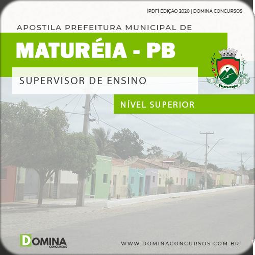 Capa Pref Maturéia PB 2020 Supervisor de Ensino