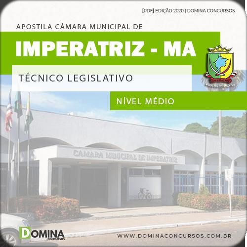 Apostila Câmara Imperatriz MA 2020 Técnico Legislativo