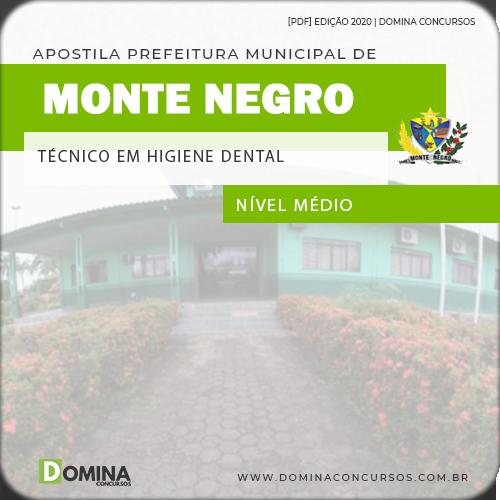 Apostila Monte Negro RO 2020 Técnico em Saúde Bucal