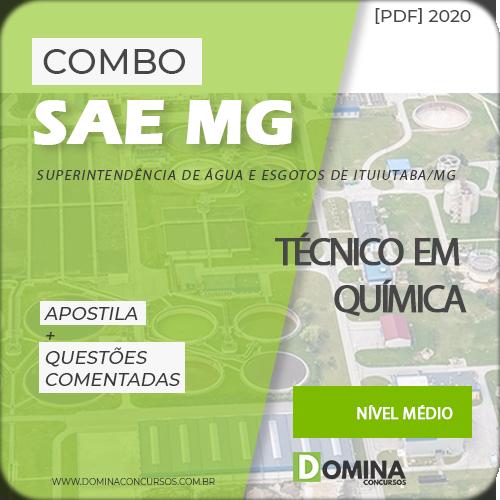 Apostila Concurso SAE MG 2020 Técnico em Química