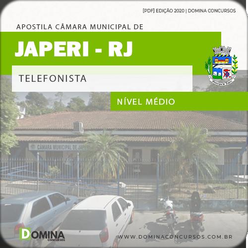 Apostila Concurso Câmara Japeri RJ 2020 Telefonista