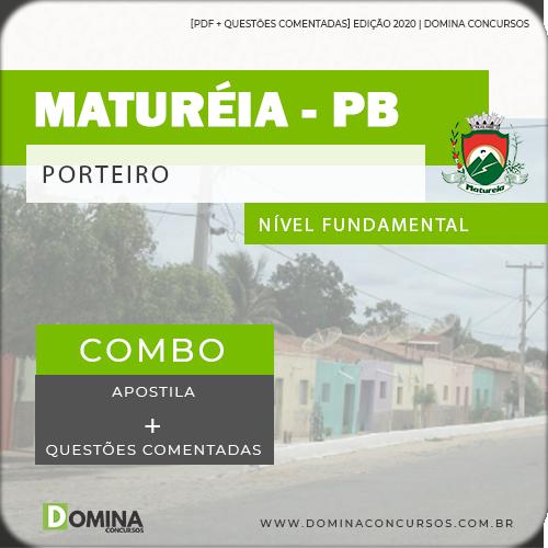 Apostila Concurso Público Pref Maturéia PB 2020 Porteiro