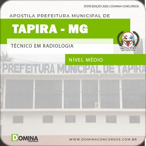 Apostila Prefeitura Tapira MG 2020 Técnico em Radiologia