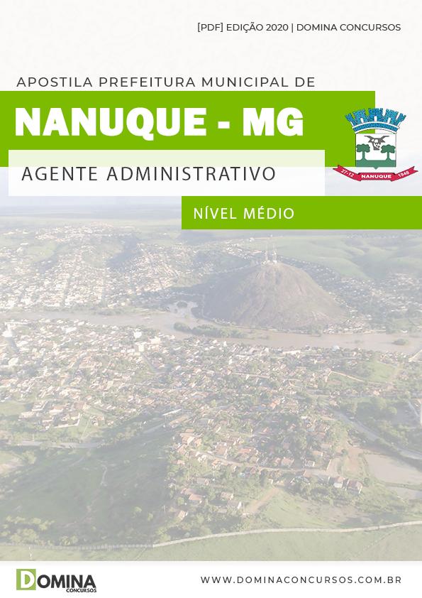 Apostila Câmara Condado PE 2020 Agente Administrativo