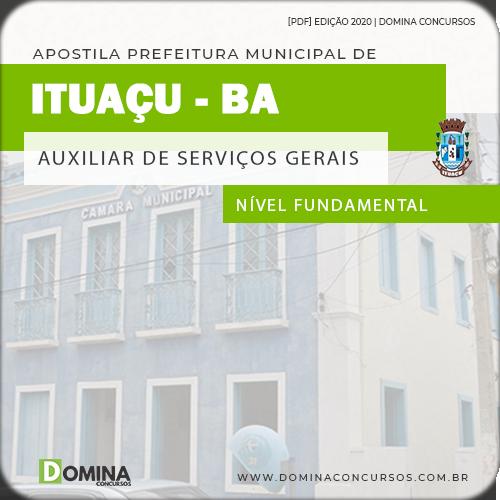 Apostila Câmara Condado PE 2020 Auxiliar de Serviços Gerais