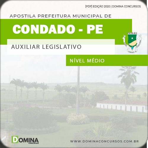 Apostila Câmara Condado PE 2020 Auxiliar Legislativo