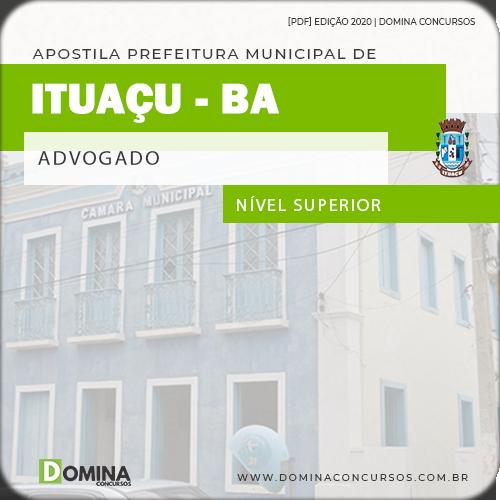 Apostila Concurso Câmara Ituaçu BA 2020 Advogado