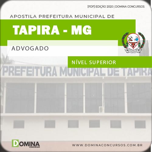 Apostila Concurso Prefeitura Tapira MG 2020 Advogado