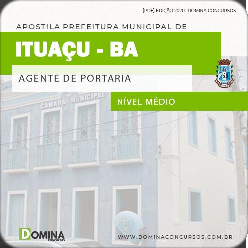 Apostila Concurso Câmara Ituaçu BA 2020 Agente de Portaria