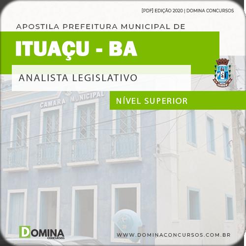 Apostila Concurso Câmara Ituaçu BA 2020 Analista Legislativo