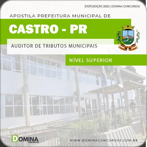 Apostila Castro PR 2020 Auditor de Tributos Municipais