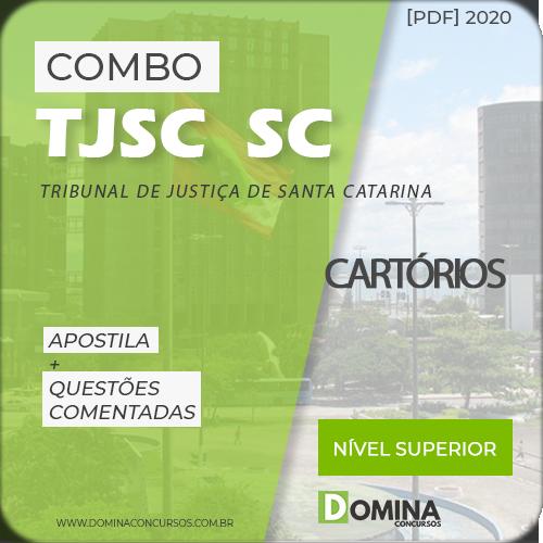 Apostila Concurso TJ SC 2020 Cartórios de Santa Catarina