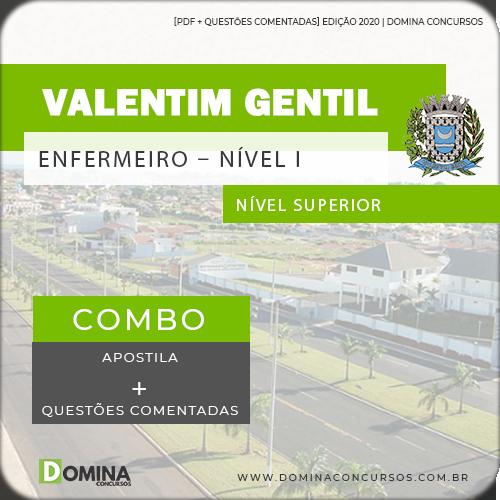 Apostila Valentim Gentil SP 2020 Enfermeiro Nível I