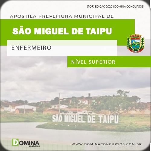Apostila Concurso Serranópolis GO 2020 Enfermeiro