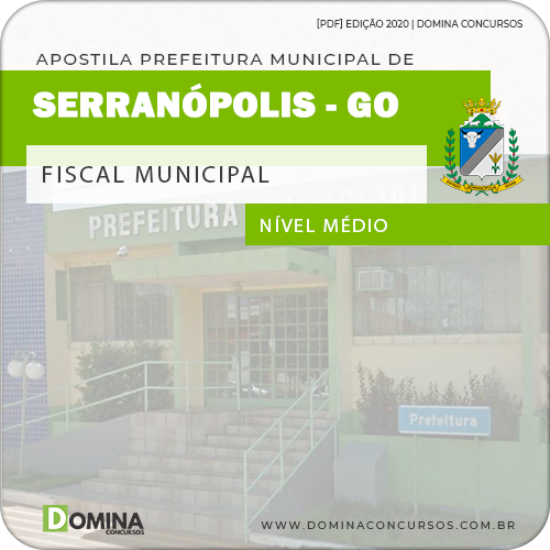 Apostila Concurso Serranópolis GO 2020 Fiscal Municipal