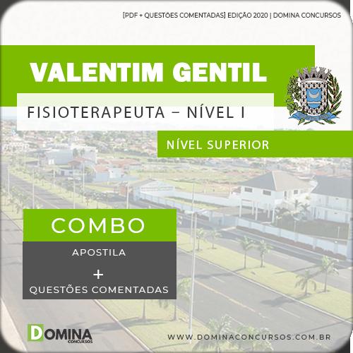 Apostila Valentim Gentil SP 2020 Fisioterapeuta Nível I