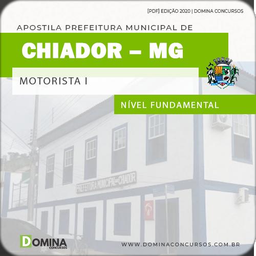 Apostila Concurso Pref Chiador MG 2020 Motorista I e II